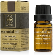 "Parfumuri și produse cosmetice Ulei esențial ""Cedru"" - Apivita Aromatherapy Organic Cedar Oil"