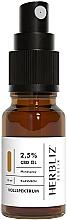 """Parfumuri și produse cosmetice Ulei spray pentru gură """"Classic"""" 2,5% - Herbliz CBD Classic Full Spectrum Oil Mouth Spray 2,5%"""