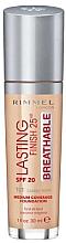 Parfumuri și produse cosmetice Primer pentru față - Rimmel Lasting Finish 25HR Breathable Foundation SPF 20