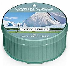 Parfumuri și produse cosmetice Lumânare parfumată - Country Candle Cotton Fresh Daylight
