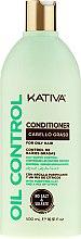 Parfumuri și produse cosmetice Balsam pentru păr gras - Kativa Oil Control Conditioner