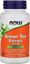 Parfumuri și produse cosmetice Extract de ceai verde, 400 mg - Now Foods