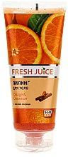 """Parfumuri și produse cosmetice Peeling de corp """"Portocală și scorțișoară"""" - Fresh Juice Orange & Cinnamon"""