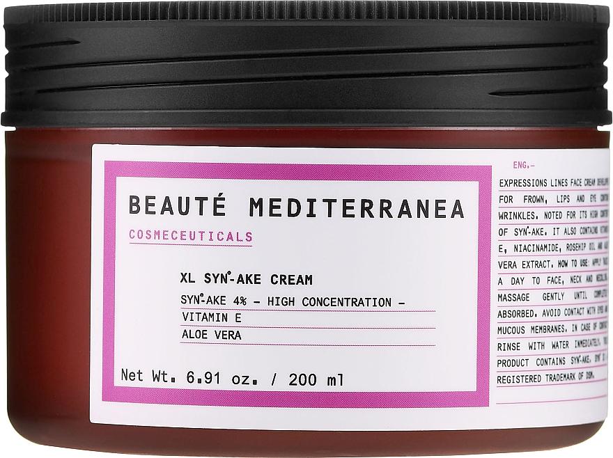 Cremă peptidică pentru față, cu efect botulinic - Beaute Mediterranea Botox Like Syn Ake Cream
