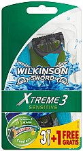 Parfumuri și produse cosmetice Aparat de ras - Wilkinson Sword Xtreme 3 Sensitive