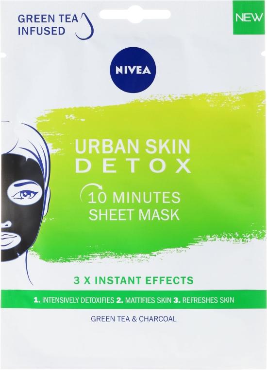 Mască de față - Nivea Urban Skin Detox Mask