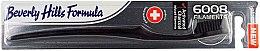 Parfumuri și produse cosmetice Periuță de dinți, moale - Beverly Hills Formula 6008 Filament Charcoal Toothbrush
