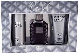 Parfumuri și produse cosmetice Guess Dare Men - Set (edt/100ml + deo/226ml + sh/gel/200ml)