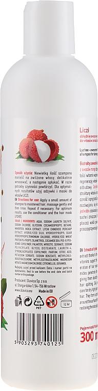 Șampon de păr cu extract de litchi și mango - Ovoc Liczi Szampon — Imagine N2
