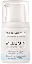 Parfumuri și produse cosmetice Cremă de zi împotriva petelor de vârstă - Dermedic MeLumin Depigmenting Cream SPF 50+