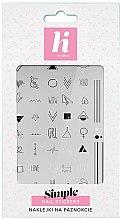 Parfumuri și produse cosmetice Abțibilduri pentru unghii - Hi Hybrid Simple Nail Stickers