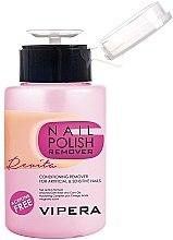 Parfumuri și produse cosmetice Soluție pentru îndepărtarea ojei - Vipera Nail Polish Remover Revita For Artifical And Sensitive Nails