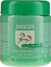 Parfumuri și produse cosmetice Balsam cu grăsime de cal și rozmarin - BingoSpa