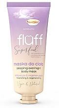 Parfumuri și produse cosmetice Mască de corp - Fluff Superfood Kombucha Sleeping Overnight Body Mask