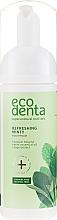 Spumă cu ulei de mentă și betaină naturală pentru cavitatea bucală - Ecodenta Mouthwash Refreshing Oral Care Foam — Imagine N3