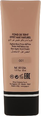 Fond de ten - Pupa Extreme Matt Effect Foundation SPF 10 — Imagine N5