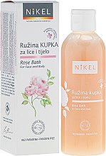 Духи, Парфюмерия, косметика Пена для ванны для лица и тела - Nikel Rose Bath