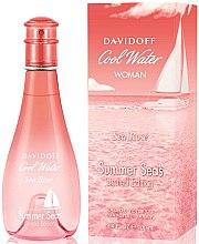 Parfumuri și produse cosmetice Davidoff Cool Water Sea Rose Summer Seas - Apă de toaletă