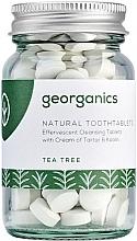 """Parfumuri și produse cosmetice Tablete pentru igiena orală """"Arbore de ceai"""" - Georganics Natural Toothtablets Tea Tree"""