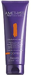 Mască pentru nuanțarea părului blond - FarmaVita Amethyste Colouring Mask Copper