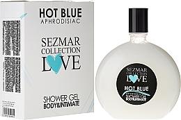 Parfumuri și produse cosmetice Gel de duș - Hristina Cosmetics Sezmar Love Hot Blue Aphrodisiac Shower Gel