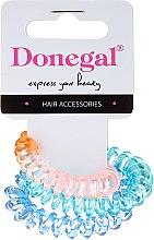 Parfumuri și produse cosmetice Elastice pentru păr, FA-5587, 3 buc, versiunea 1 - Donegal