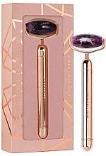 Parfumuri și produse cosmetice Rolă cu ametist vibrant pentru față - Crystallove Vibrating Amethyst Roller