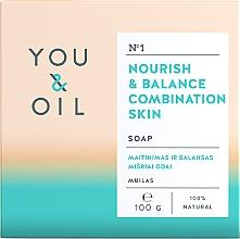 Parfumuri și produse cosmetice Săpun nutritiv pentru ten mixt - You & Oil Nourish & Balance Combination Skin