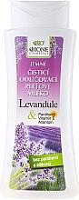 """Parfumuri și produse cosmetice Lapte demachiant """"Lavandă"""" - Bione Cosmetics Lavender Cleansing Facial Milk"""