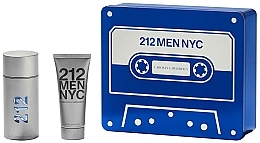 Parfumuri și produse cosmetice Carolina Herrera 212 Men NYC - Set (edt/100ml + sh/gel100ml)