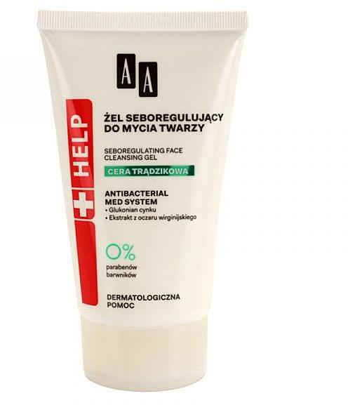 Себорегулирующий гель для лица - AA Help Acne Skin Gel — фото N1