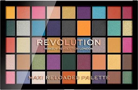 Farduri de ochi, 45 nuanțe - Makeup Revolution Maxi Reloaded Palette