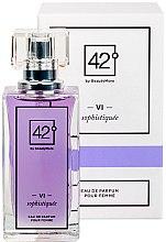 Parfumuri și produse cosmetice 42° by Beauty More VI Sophistiquee Pour Femme - Apă de parfum