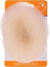 Духи, Парфюмерия, косметика Валик для прически 20421, бежевый, размер L - Top Choice