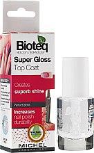 """Parfumuri și produse cosmetice Fixator pentru unghii """"Super Shine"""" - Bioteq Super Gloss Top Coat"""