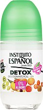 Parfumuri și produse cosmetice Antiperspirant roll-on - Instituto Espanol Detox Deodorant Roll-on