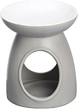Parfumuri și produse cosmetice Lampă aromaterapie, gri - Bolsius Ceramic Classic Wax Melt Burner