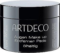 Parfumuri și produse cosmetice Discuri din bumbac pentru demachiere - Artdeco Eye Makeup Remover Pads Oily
