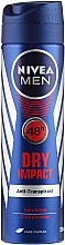 Parfumuri și produse cosmetice Deodorant-spray - Nivea Men Dry Impact Deo Spray