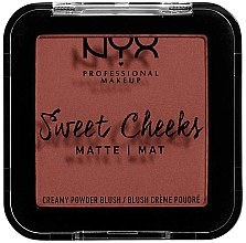 Parfumuri și produse cosmetice Fard mat de obraz - NYX Professional Makeup Sweet Cheeks Matte Blush
