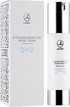 Parfumuri și produse cosmetice Cremă regenerantă antirid de noapte - Lambre Ultra Hyaluronic