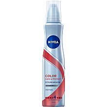 Parfumuri și produse cosmetice Spumă de păr - Nivea Color Care & Protect Styling Mousse Extra Strong