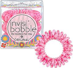 Parfumuri și produse cosmetice Elastic- brățară pentru păr, 3 buc - Invisibobble Original Flores & Bloom Yes, WeCancum HP