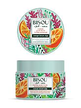 """Parfumuri și produse cosmetice Scrub pentru corp """"Anticelulitic"""" - Bisou I feel... Nature Anti-Cellulite Body Scrub Orange & Brown Algae"""