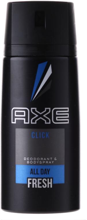 "Antipersiprant-aerosol ""Clic"" pentru bărbați - Axe Deodorant Bodyspray Click — Imagine N1"