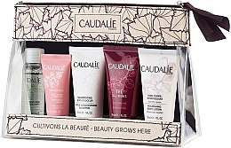 Parfumuri și produse cosmetice Set - Caudalie Travel Set (water/30ml + cr/15ml + sh/30ml + sh/g/30ml + b/lot/30ml)