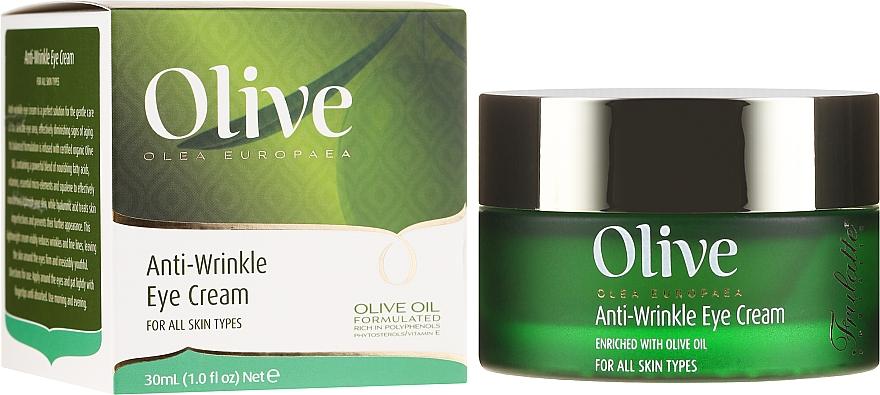 Cremă antirid pentru zona ochilor - Frulatte Olive Anti-Wrinkle Eye Cream
