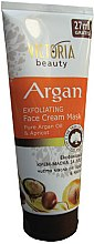 Parfumuri și produse cosmetice Mască de față - Victoria Beauty Exfoliating Face Cream Mask Argan Oil & Apricot