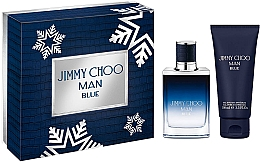 Jimmy Choo Man Blue - Набор (edt/50ml + sh/gel100ml) — фото N1