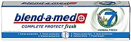 """Parfumuri și produse cosmetice Зубная паста """"Комплекс с травами"""" - Blend-a-Med Complete Protect Fresh 7 Herbal Fresh Toothpaste"""